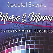 Music and Mirrors Entertainment Services Wedding DJ