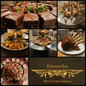Elegant Eat Dinner Party Catering