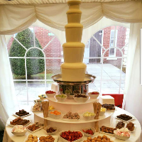 Choc N Dip chocolate fountain hire - Catering , Barnsley,  Chocolate Fountain, Barnsley Popcorn Cart, Barnsley Candy Floss Machine, Barnsley Sweets and Candy Cart, Barnsley