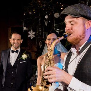 Mike Smith Saxophonist Swing Band