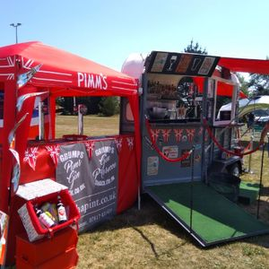 Hire Grumps Pimm's Gin for your event in Plymouth