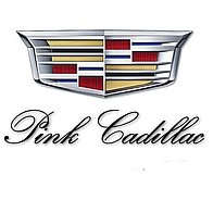 Pink-cadillac Wedding car