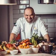 Matei Baran - Masterchef Professionals Quarter Finalist Afternoon Tea Catering