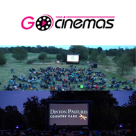 Gocinemas  Pop Up Cinema Projector and Screen