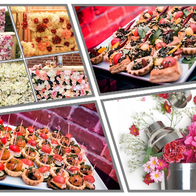 Flower Bar catering services BBQ Catering