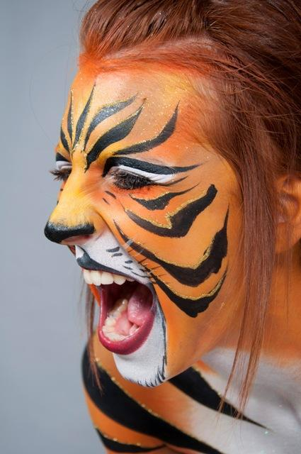 Derby Face and Body Painting - Children Entertainment Circus Entertainment Caricaturist  - Derby - Derbyshire photo