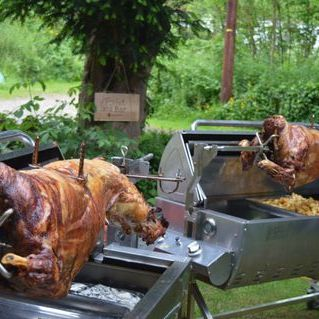 Flame BBQ Hog Roast