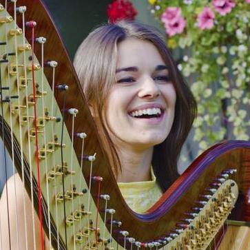 Megan Morris Harpist Classical Ensemble