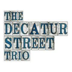 The Decatur Street Trio Vintage Singer