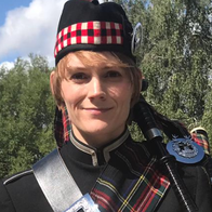 Sarah Woollcott - Bagpiper Bagpiper