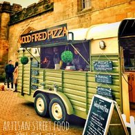 Artisan Street Food Wood Fired Pizza Pizza Van
