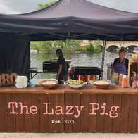 The Lazy Pig Co Ltd Pizza Van