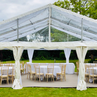 Luxe Marquees Chair Covers