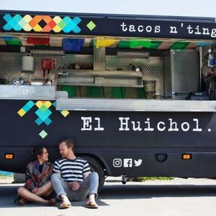 El Huichol Fish and Chip Van