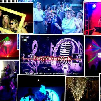 Party Makers World - DJ , Greater London, Singer , Greater London,  Live Solo Singer, Greater London Wedding DJ, Greater London Mobile Disco, Greater London Karaoke DJ, Greater London Club DJ, Greater London Party DJ, Greater London