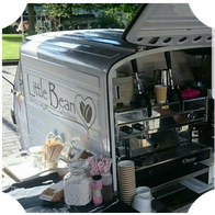 The Little Bean Coffee Cart Afternoon Tea Catering