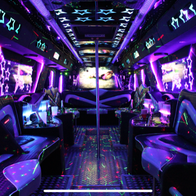 Rockstar Party Bus Limousine