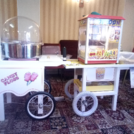 "Bounce ""n"" Slide Sweets and Candies Cart"