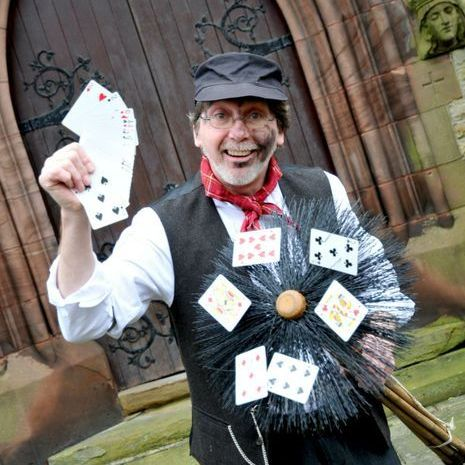 Charlie Brush - Magical Chimney Sweep - Magician , Warrington,  Close Up Magician, Warrington Table Magician, Warrington Wedding Magician, Warrington