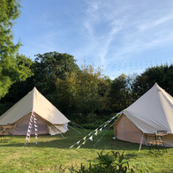 Life's A Pitch Bell Tent