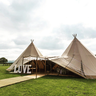 Tipis in the Peak Marquee & Tent