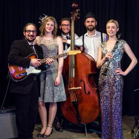 Hetty and the Jazzato Band - Live music band , London,  Function & Wedding Band, London Jazz Band, London Swing Band, London Vintage Band, London Gypsy Jazz Band, London