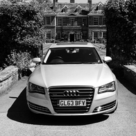 Andover Chauffeur Wedding car