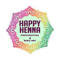 Happy Henna Face Painting and Body Art Face Painter