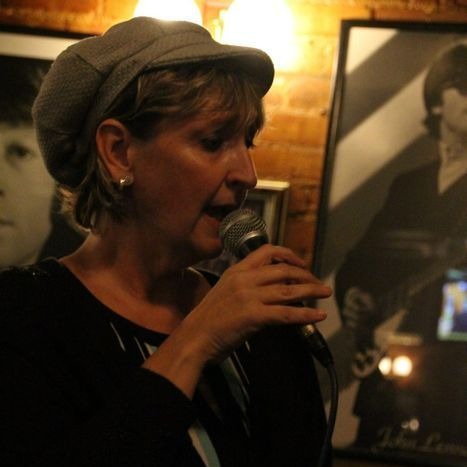 Michele Osten and The Not Just Jazz Band Vintage Singer