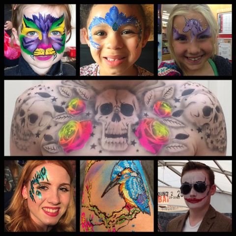 Lisa Wood Face and Body Art - Children Entertainment , Devon,  Face Painter, Devon