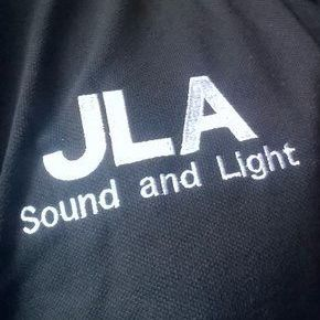 JLA Sound and Light Projector and Screen