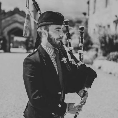 Full-time, professional bagpiper/piper for hire - Weddings, Funerals, any occasion - Solo Musician , Glasgow,  Bagpiper, Glasgow