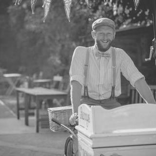 Bennys organic ice cream - Catering , Bude,  Ice Cream Cart, Bude