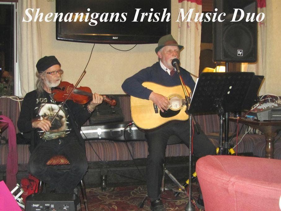 Shenanigans Irish Music Duo - Live music band World Music Band  - Buxton - Derbyshire photo