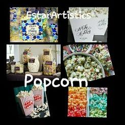 EstarArtistics Popcorn Cart