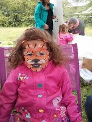 Purple Bee Face Painting - Children Entertainment  - Coventry - West Midlands photo