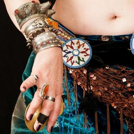Ashnah American Tribal Style® Folkloric dance Belly Dancer