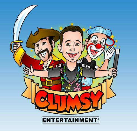 Clumsy Entertainment - Children Entertainment , West Sussex,  Balloon Twister, West Sussex Children's Magician, West Sussex Clown, West Sussex