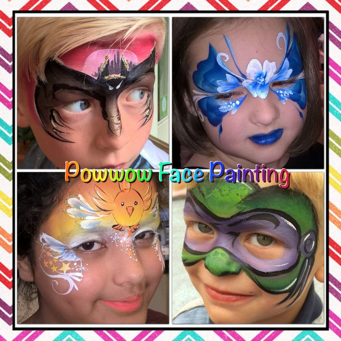 Powwow Face Painting - Children Entertainment  - Shropshire - Shropshire photo