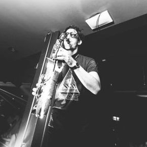 Ashley James on Sax - Solo Musician , Cardiff,  Saxophonist, Cardiff