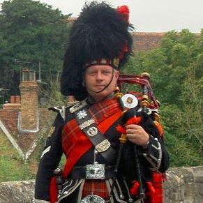 Ivan Brooks, the Kent Piper - Solo Musician , Maidstone,  Bagpiper, Maidstone