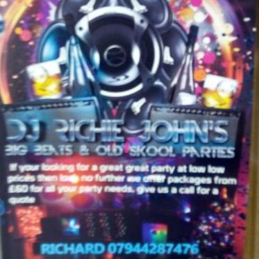 DJ Richie John's Big Beats & Oldskool Parties Mobile Disco