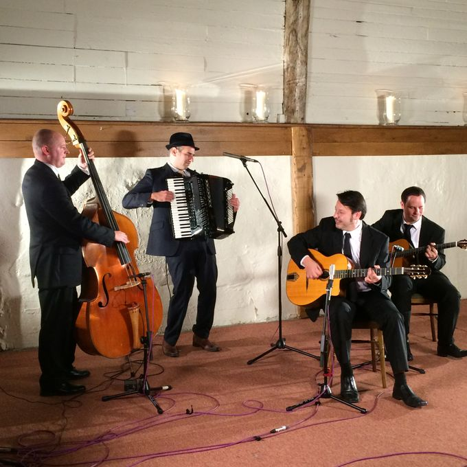 Jonny Hepbir Gypsy Jazz Band - Live music band Solo Musician  - Margate - Kent photo