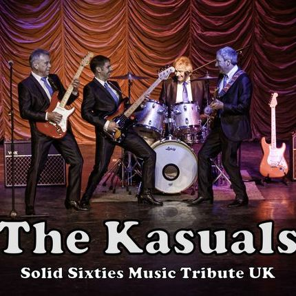 The Kasuals Solid 60's Music Tribute UK - Live music band , Preston, Tribute Band , Preston, Event Equipment , Preston,  60s Band, Preston Vintage Band, Preston Festival Style Band, Preston Music Equipment, Preston PA, Preston 50s Band, Preston