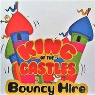 King Of The Castles Bouncy Hire Ice Cream Cart