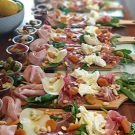 Pastini Queen Dinner Party Catering