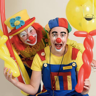 Double Trouble - Two Clowns Twice the Fun Clown