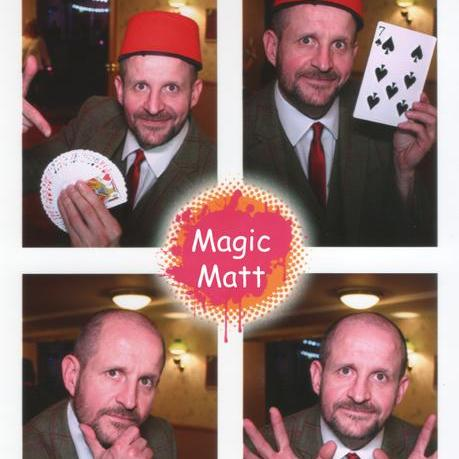 Matt Windsor Close Up Magician