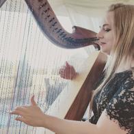 Harpist Christine Palethorpe Solo Musician
