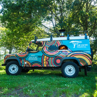 The Safari Pizza Co Food Van